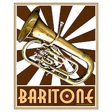 BandNerd.com: Retro Baritone Poster