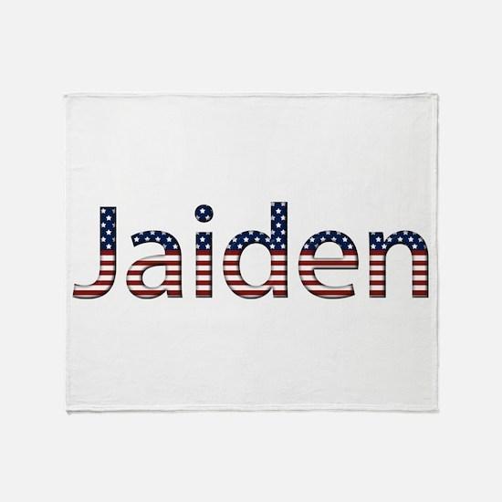 Jaiden Stars and Stripes Throw Blanket