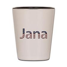 Jana Stars and Stripes Shot Glass