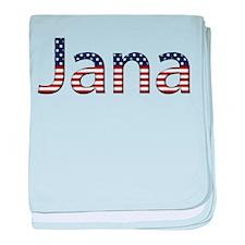 Jana Stars and Stripes baby blanket