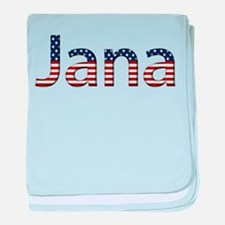 Jana Stars and Stripes baby blanket