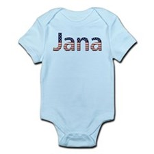 Jana Stars and Stripes Onesie