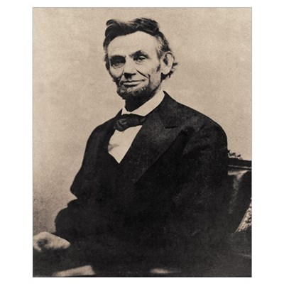 Abe Lincoln 16 x 20 Poster