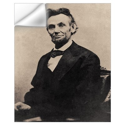 Abe Lincoln 16 x 20 Wall Decal