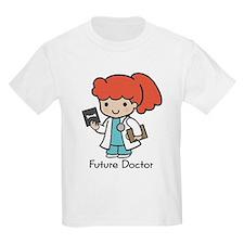 Future Doctor - girl Kids T-Shirt