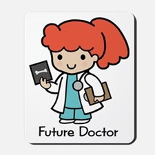 Future Doctor - girl Mousepad