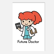 Future Doctor - girl Postcards (Package of 8)