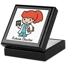 Future Doctor - girl Keepsake Box