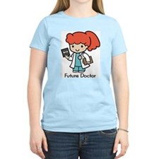 Future Doctor - girl Women's Pink T-Shirt