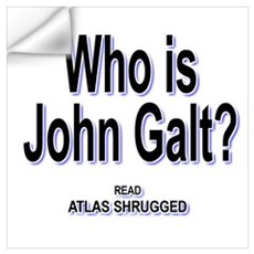 Atlas Shrugged Wall Decal