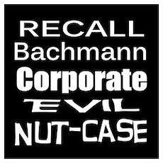 Recall Michele Bachmann Poster
