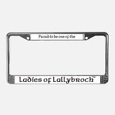 LOL Pride License Plate Frame