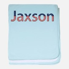 Jaxson Stars and Stripes baby blanket