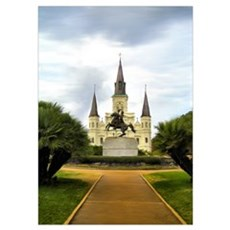 New Orleans' Jackson Square Poster