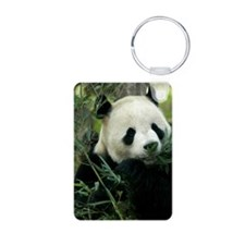 Panda Face Eating Keychains
