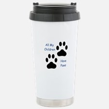 All My Children Have Paws 1 Stainless Steel Travel