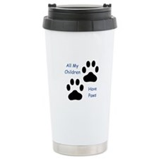 All My Children Have Paws 1 Travel Mug