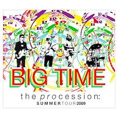 Big Time Procession Tour Poster