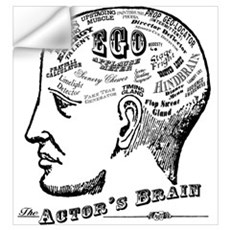 The Actor's Brain Wall Decal