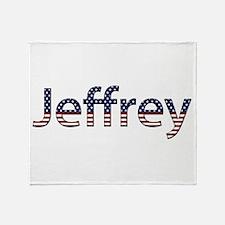 Jeffrey Stars and Stripes Throw Blanket