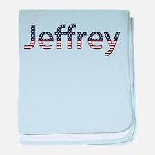 Jeffrey Stars and Stripes baby blanket