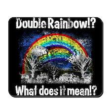 Double Rainbow, Worn Mousepad