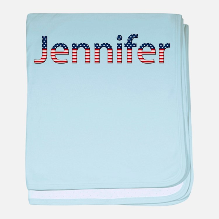Jennifer Stars and Stripes baby blanket