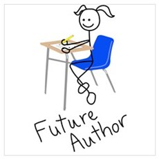 Future Author Canvas Art