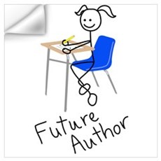 Future Author Wall Decal