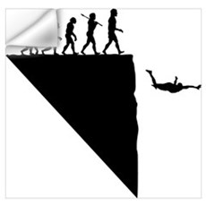 Base Jumper Wall Decal
