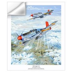 Tuskegee Airman P-51 Mustang Wall Decal