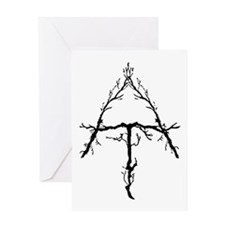 Appalachian Trail Twigs Greeting Card
