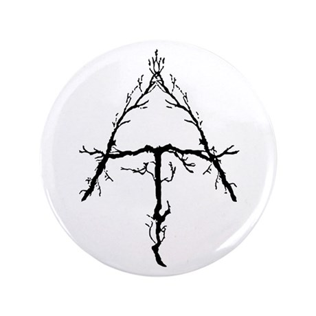 "Appalachian Trail Twigs 3.5"" Button (100 pack"