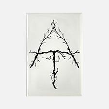 Appalachian Trail Twigs Rectangle Magnet