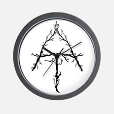 Appalachian Trail Twigs Wall Clock