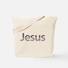 Jesus Stars and Stripes Tote Bag