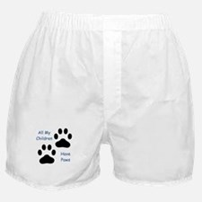 All My Children Have Paws 1 Boxer Shorts