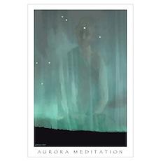 Aurora Meditation Poster