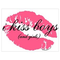 i kiss boys and girls Poster