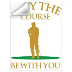 May The Course Be With You Wall Decal