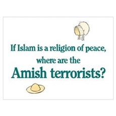 Amish Terrorists Canvas Art