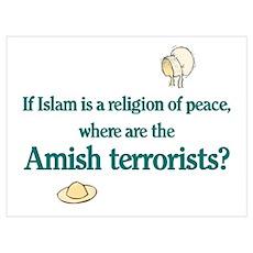 Amish Terrorists Poster