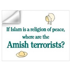 Amish Terrorists Wall Decal
