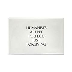 Humanists aren't Perfect, Jus Rectangle Magnet