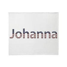 Johanna Stars and Stripes Throw Blanket