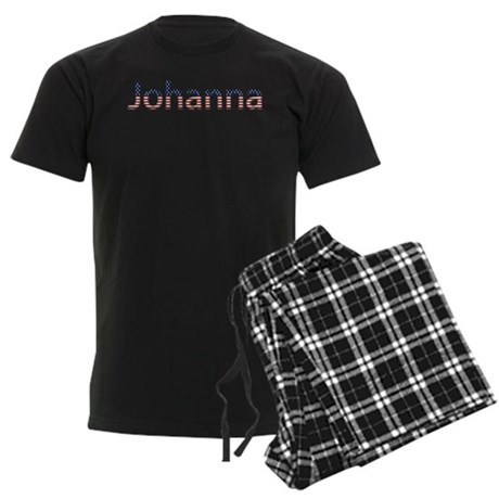 Johanna Stars and Stripes Men's Dark Pajamas