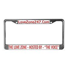 Radio station License Plate Frame