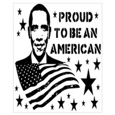 Proud To Be An American Poster