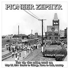 Pioneer Zephyr Poster