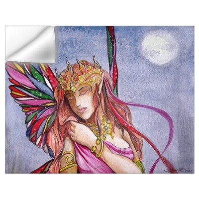 Moonlight fairy detail Wall Decal
